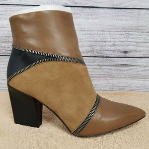 NEW Charles by Charles David Lact Ankle Boots 7.5